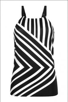 Amoena Swimwear Andalusia Mastectomy Swim Tankini Top
