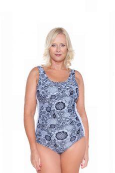Genevieve Swimwear Non Underwire Paisley Park One Piece Swimsuit