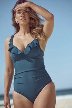 Marvell Lane Swimwear Sofia One Piece Swimsuit (Terre)
