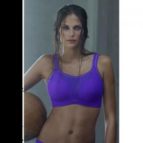 Panache Sports Underwire Bra (Violet)