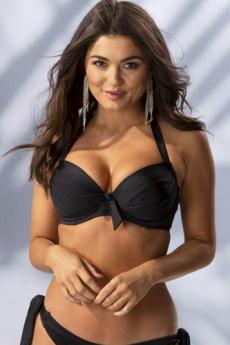 Pour Moi Azure Padded Bikini Top (Black)