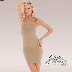 Julie France Strapless Dress Shaper (Nude)
